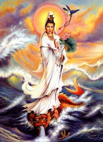 how to pray to guan yin for help