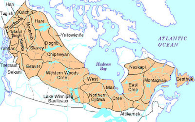 a study on the life of the subarctic indians in the canadian shield region 2 indian and northern affairs canada  this study focused on the subarctic precambrian shield portion of the canadian of the subarctic canadian shield, and.