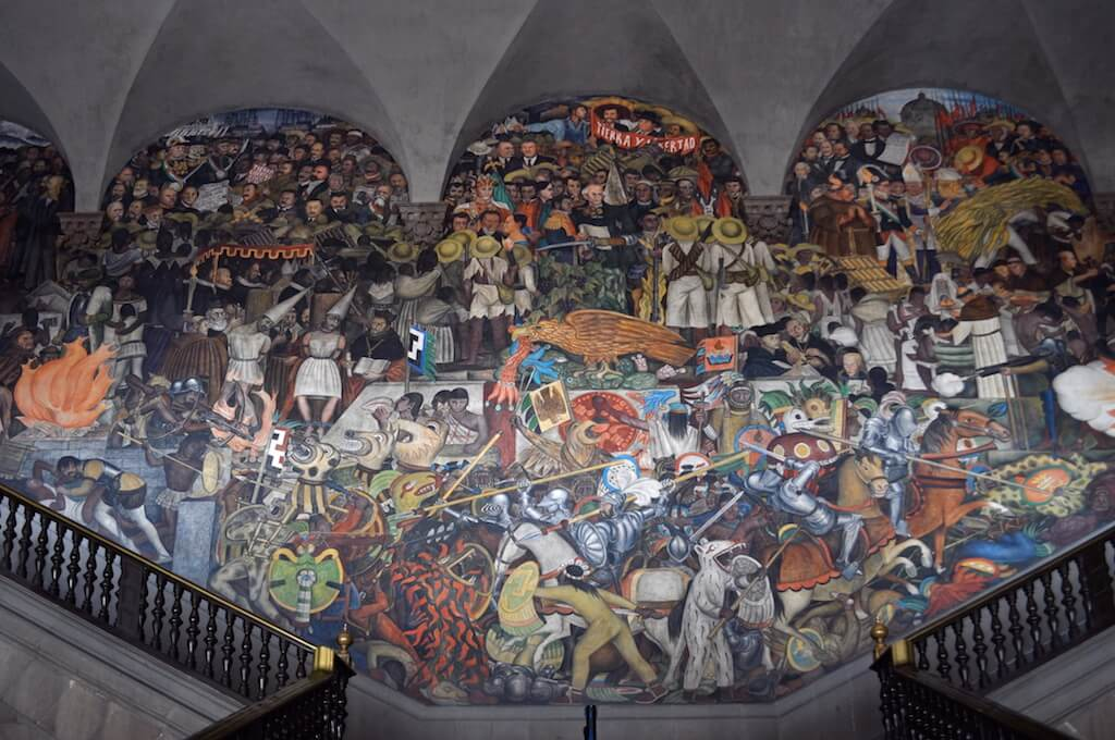 Indigenous identity in the 2000 mexican census for Mural mexicano