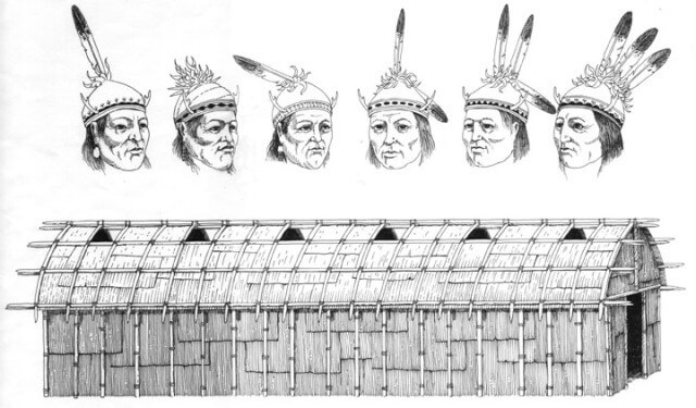 in the iroquois constitution what do the branches symbolize