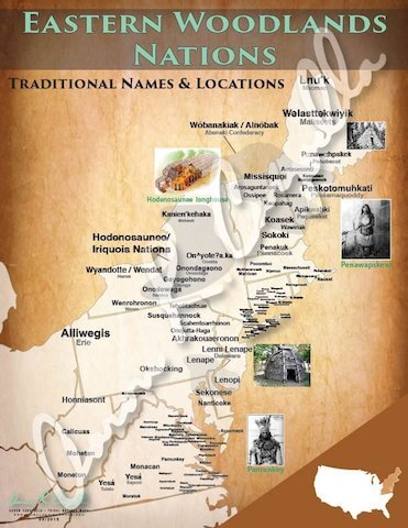 Virginia, Maryland, New Jersey and Delaware Tribes